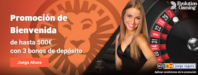 leovegas ofrece un bono exclusivo para su sección de casino en vivo