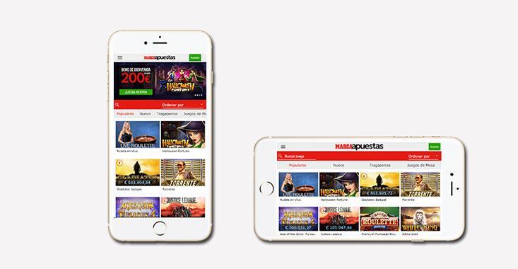 Marca Apuestas Casino móvil