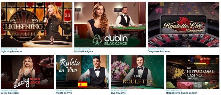 Hay algunos casinos en vivo de baccarat en España con distribuidores que hablan español.