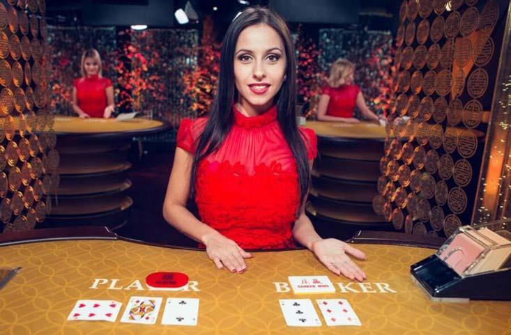 Live baccarat casinos con crupier en vivo