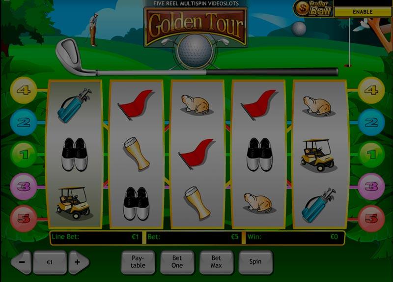 Captura de pantalla de Dollar Ball tragaperras de Playtech