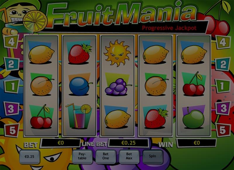 Captura de pantalla de Fruit Mania tragaperras de Playtech