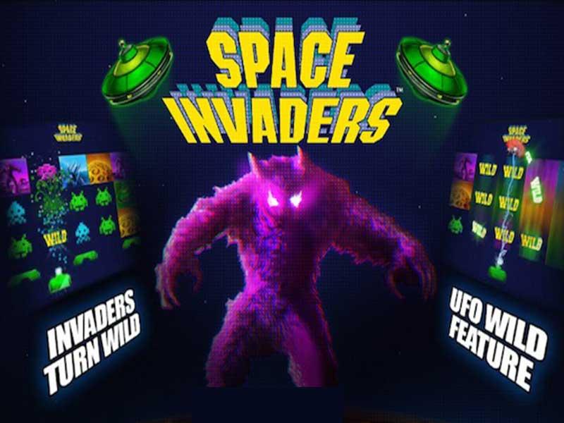 Captura de pantalla de Space Invaders tragaperras de Playtech