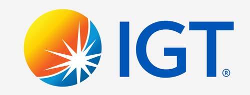 IGT logo grey background