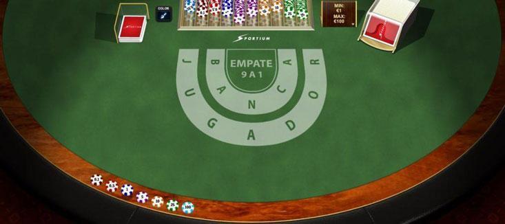 El baccarat online gratis es el juego con mayor retorno al jugador, por lo que vale la pena entrenarse como profesional