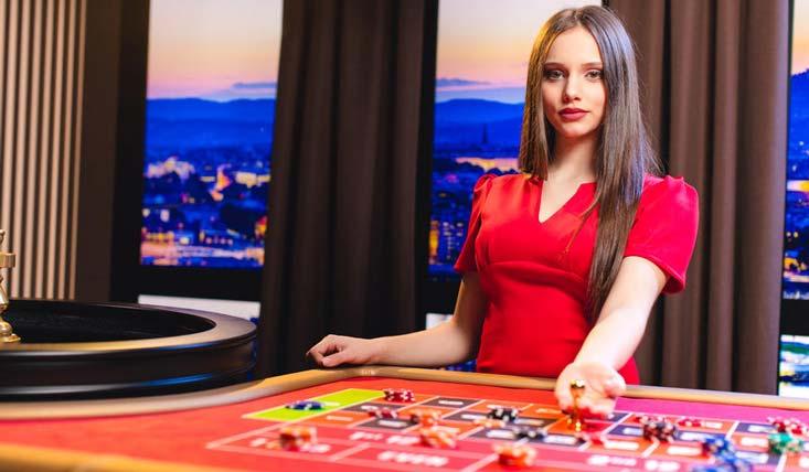croupier de ruleta en vivo español femenino