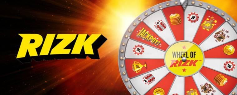 programa de fidelidad rizk: wheel of rizk
